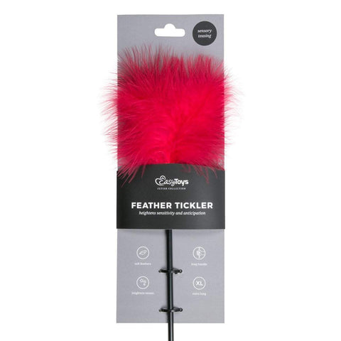 Easy Toys Fetish Collection Tickler Red Tickler - Long
