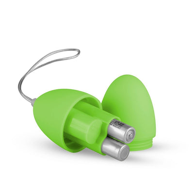 Easytoys - The Mini Vibe Collection Love Egg Green Remote Control Green Vibrating Love Egg