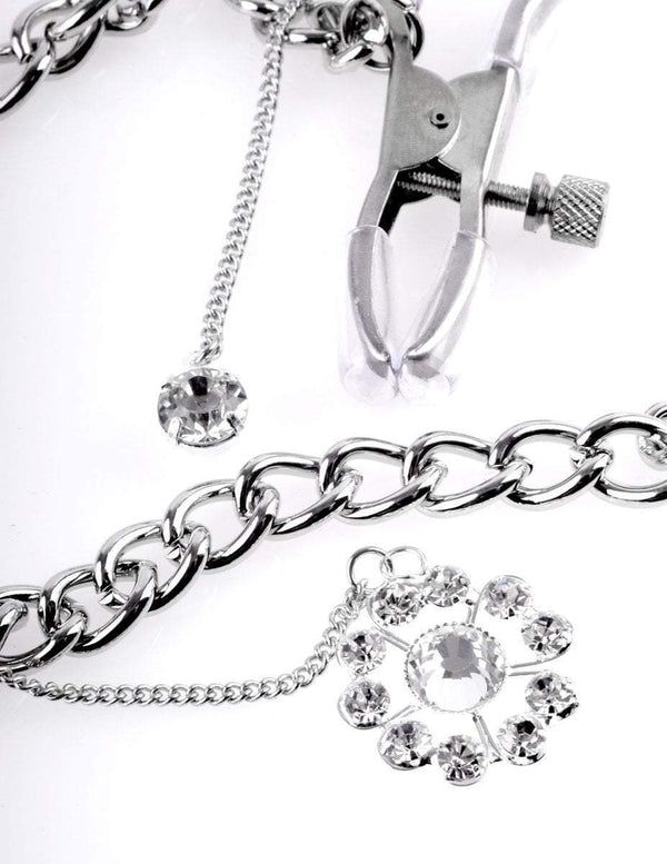 Fetish Fantasy nipple clamp Crystal Nipple Clamps