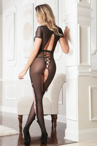 g world Bodystocking Sexy Cut Out Bodystocking