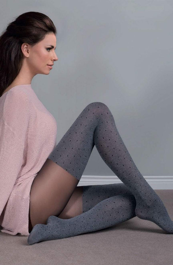gabriella gabriella tights 2 (S) / Grey Fabia Grey Tights