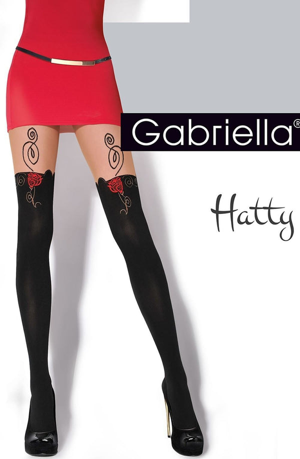 Gabriella Hatty Tights - Divas Closet