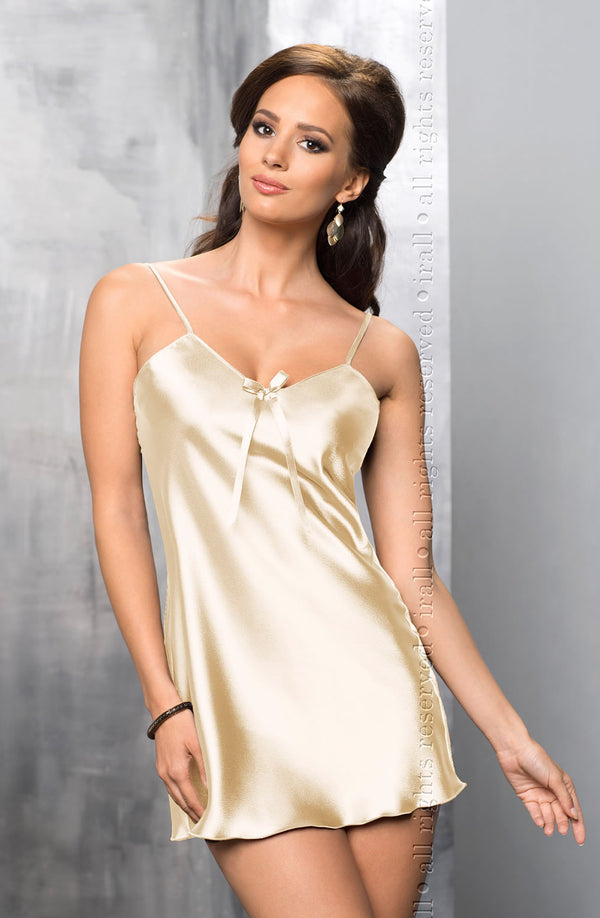 Irall Aria Cream Satin Nightdress