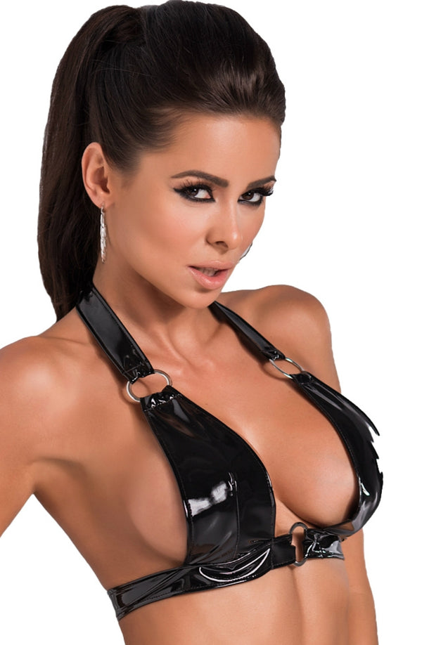 Irall Erotic Rio Black Latex Bra