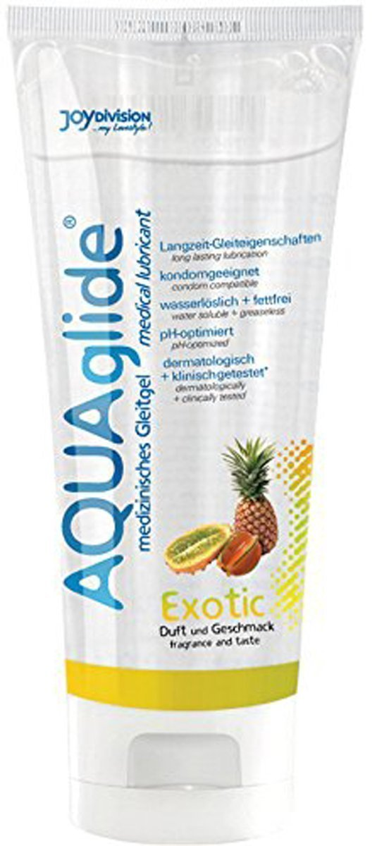 AQUAglide Exotic Fruit Lubricant - 100 ml