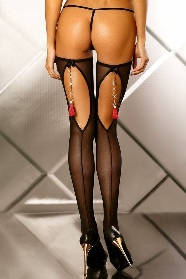 Lolitta Boudior Stockings - Divas Closet