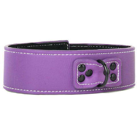 lust collar Bondage Collar - Purple