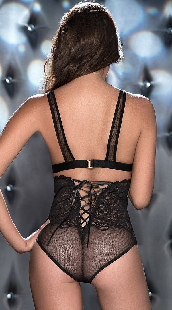 Mapale Bra Set Mapale Black Two Piece Bra Set