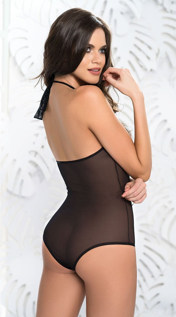 Mapale Mapale Bodysuit Romantic Black Bodysuit