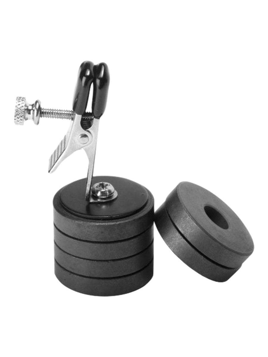 Master Series nipple clamp Nipple Clip With Magnet Weights