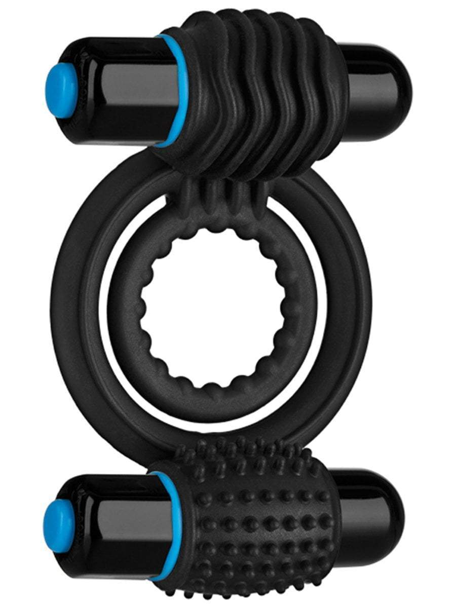 OptiMale vibrating cock ring Vibrating Double C-Ring