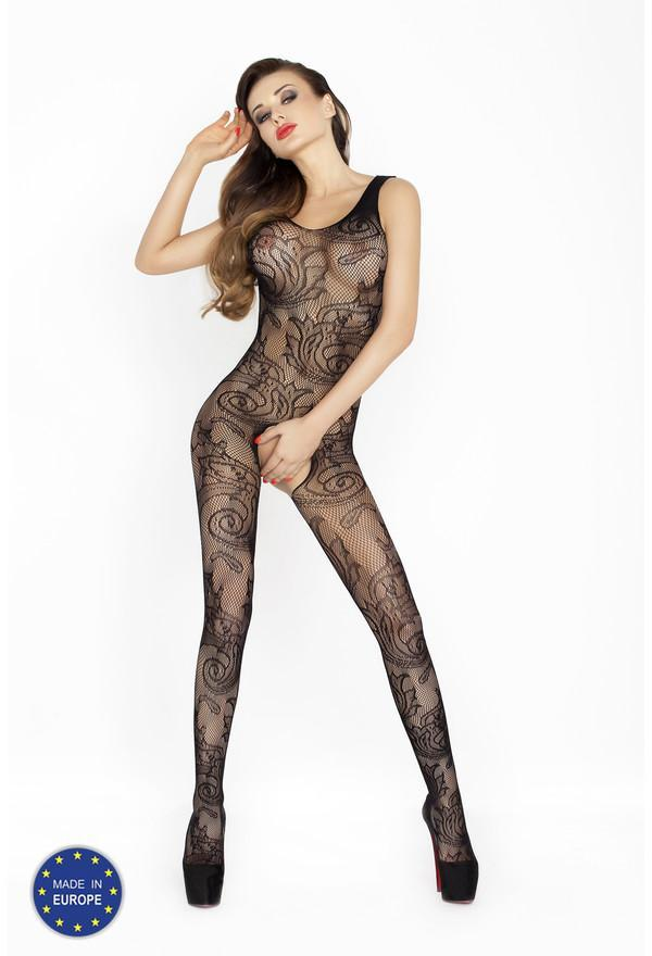 Passion Bodystocking BS020 Black