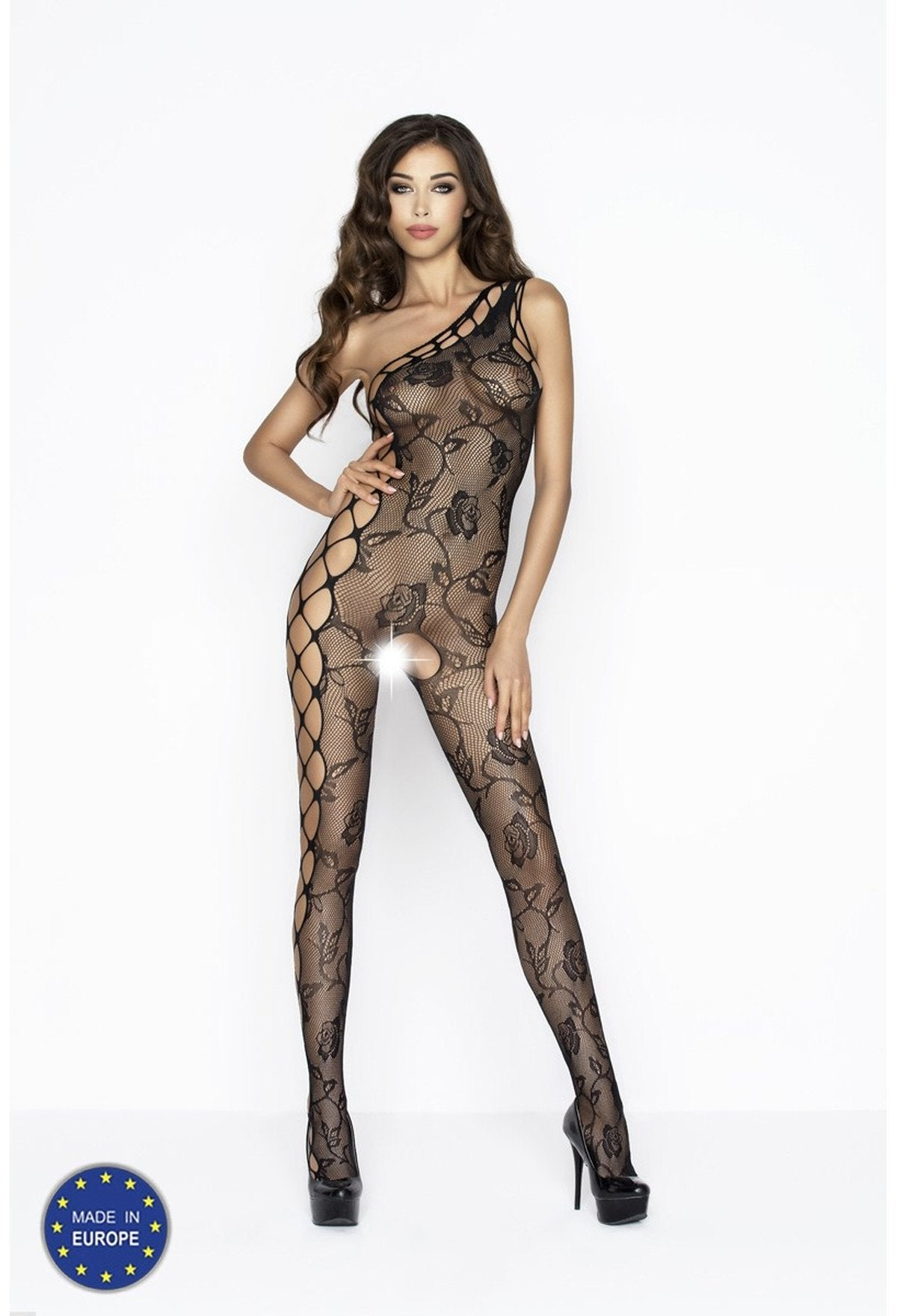 Passion Bodystocking BS036 Black