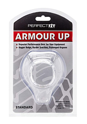 Perfect Fit cock ring Armour Up Sport - Clear