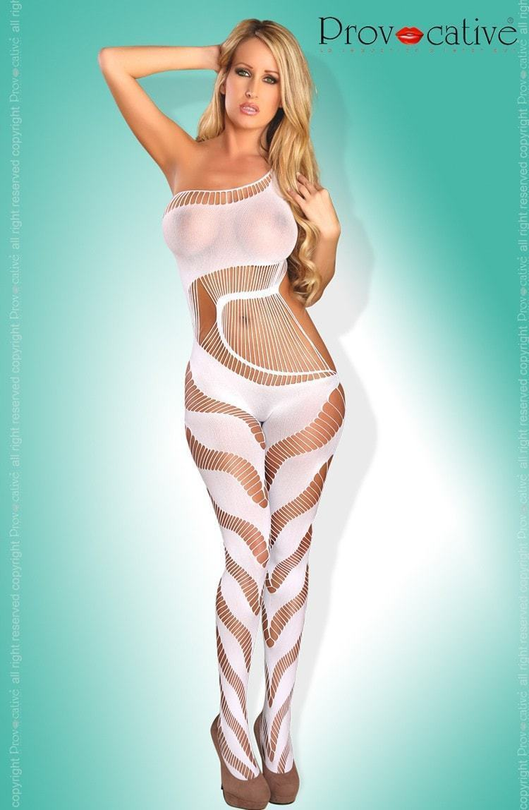 Provocative Bodystocking White - Divas Closet