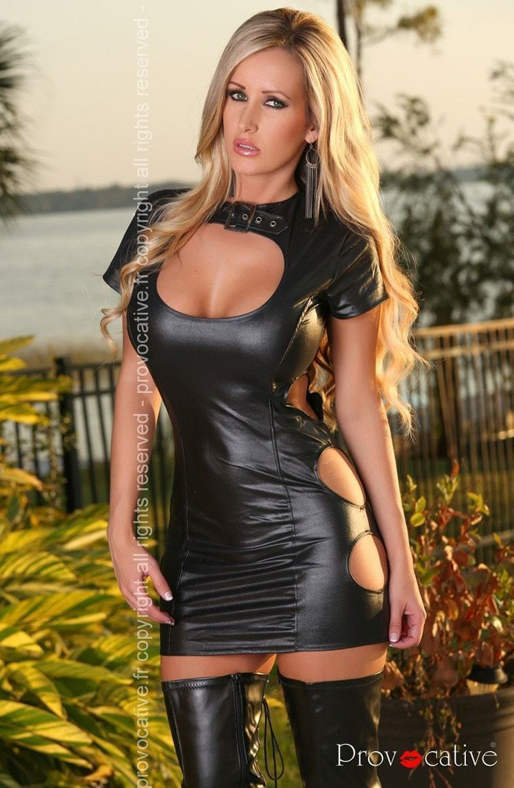 Provocative Sexy Dress Black - Divas Closet