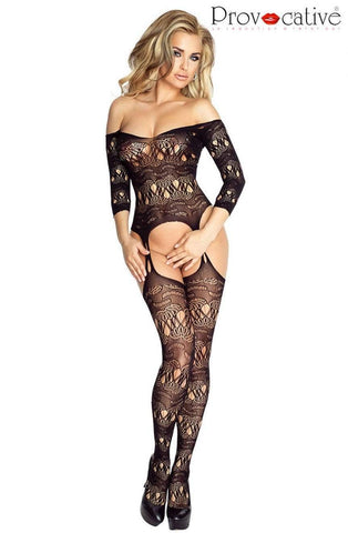 provocative Provocative Bodystocking One Size UK 6-10 / Black Black Bodystocking