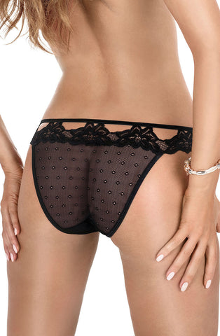 Roza Falka Brief Black Back