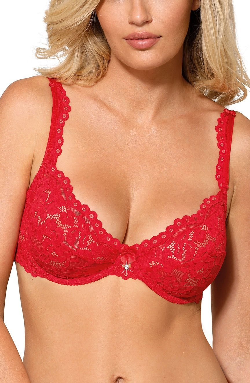 Roza Newia Red Soft Cup Bra