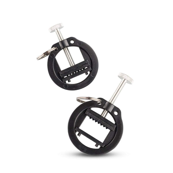 sinner gear nipple clamp Black Nipple Clamps