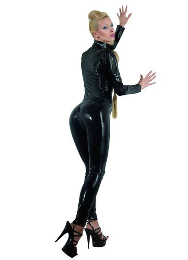 The Latex Collection Latex Clothing Black Latex Catsuit