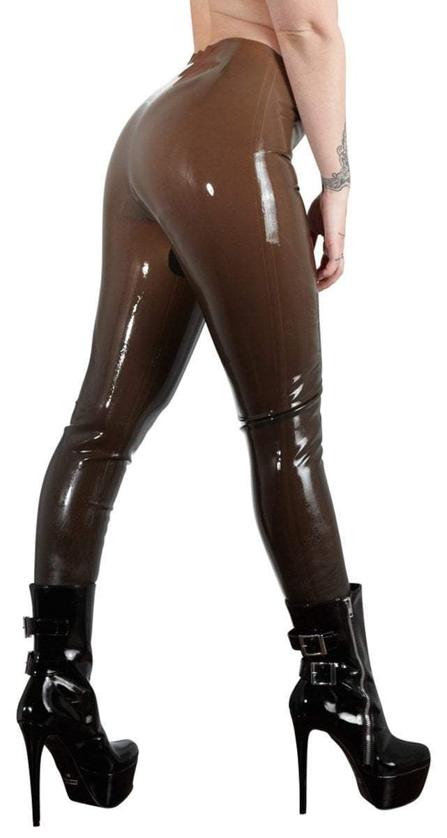 The Latex Collection Latex Clothing Latex Tights - Smoke