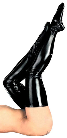The Latex Collection Latex Stockings Black Latex Stockings