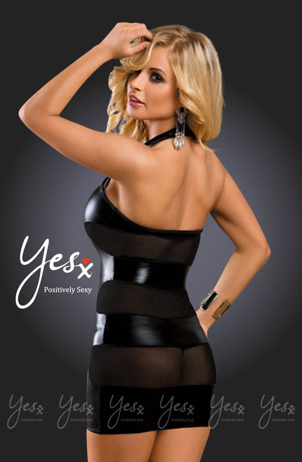 Yesx YX326 Dress Black - Divas Closet