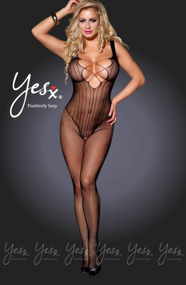 Yes YesX Bodystocking UK 8-10 / Black YX938 Black Bodystocking