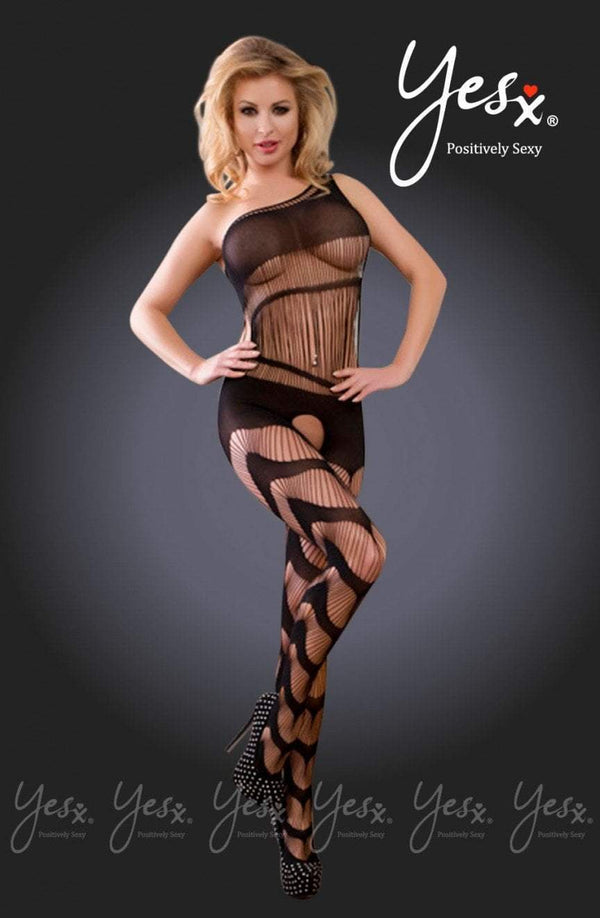 Yes YesX Bodystocking UK 8-10 / Black YX940 Black Bodystocking