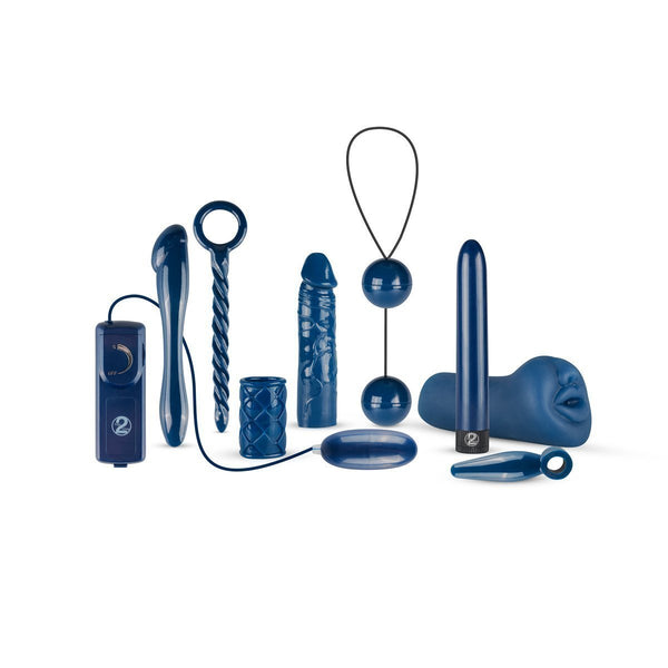You2Toys Sex Toy Gift Set Midnight Blue Vibrator Gift Set