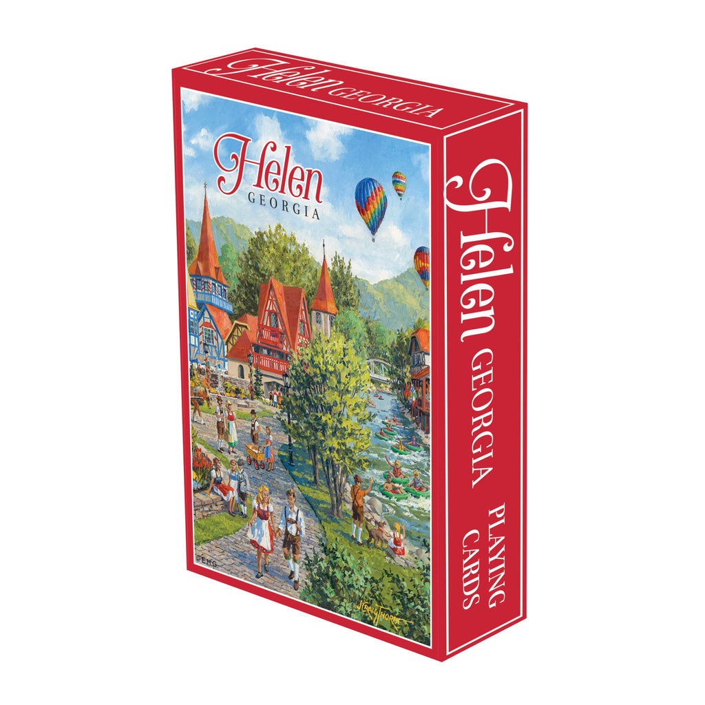 C703: PLAYING CARDS: HELEN, GA