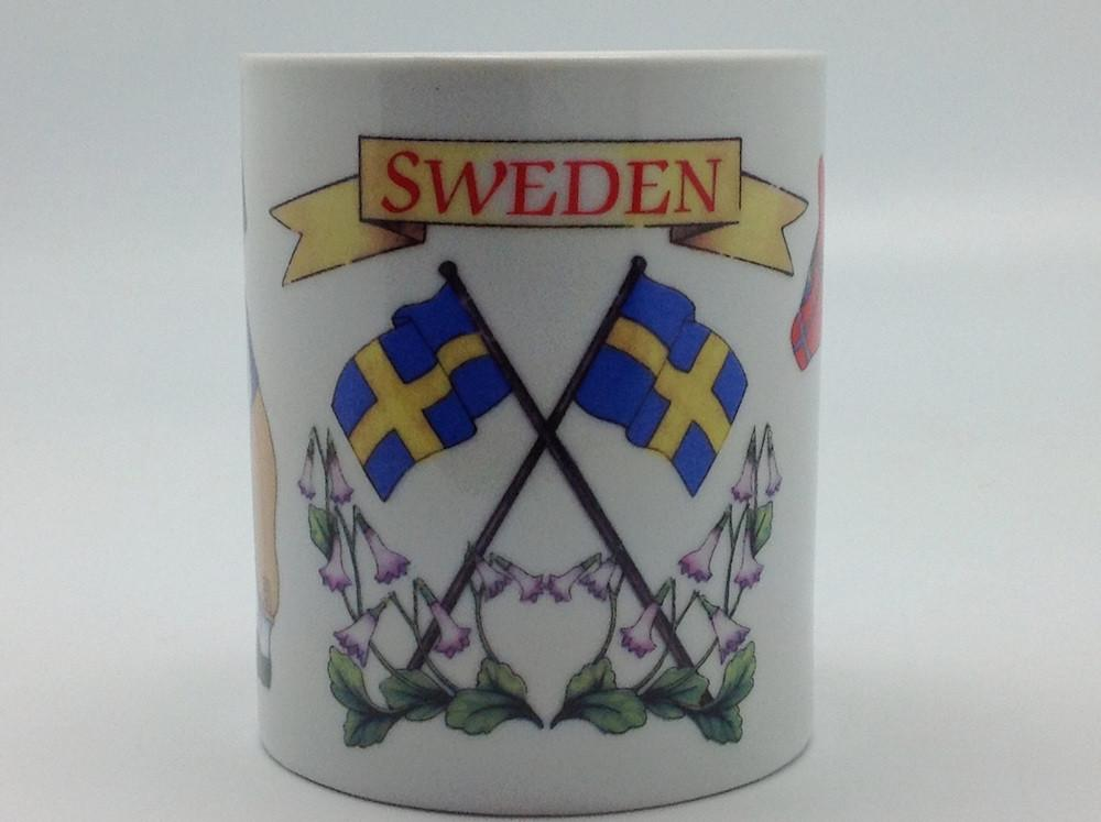 Swedish Gift Shop 3 Graphic Coffee Mug - Below $10, Coffee Mugs, Coffee Mugs-Swedish, CT-150, Dala Horse, Drinkware, Heart, Home & Garden, Swedish, SY: I Love Sweden, Tableware, Top-SWED-A - 2 - 3