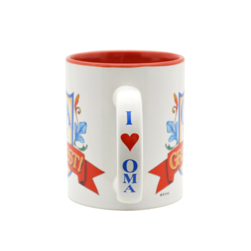 German Gift Idea Mug  inchesOma is the Greatest inches - Coffee Mugs, Coffee Mugs-Dutch, Coffee Mugs-German, CT-100, CT-102, CT-500, New Products, NP Upload, Oma, Oma & Opa, SY:, SY: Oma Greatest, SY: Oma is the Greatest, Under $10, Yr-2016 - 2