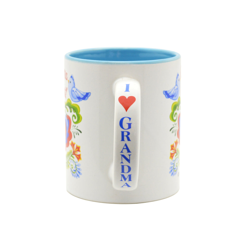 Ceramic Coffee Mug  inchesGrandma is the Greatest inches - Coffee Mugs, CT-100, CT-101, CT-102, Grandma, New Products, NP Upload, Rosemaling, SY:, SY: Grandma Greatest, Under $10, Yr-2016 - 2 - 3