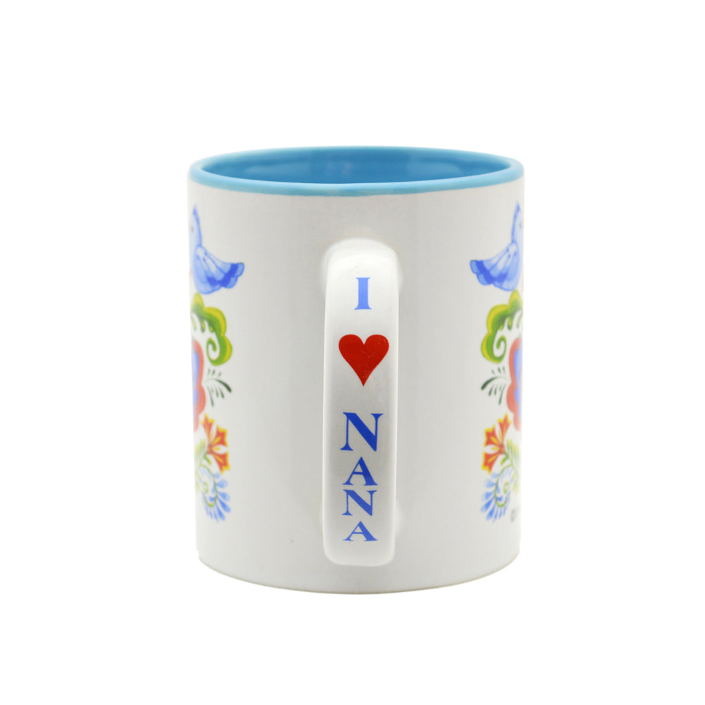 Ceramic Coffee Mug  inchesNana is the Greatest inches - Coffee Mugs, CT-100, CT-101, Nana, New Products, NP Upload, Rosemaling, SY:, SY: Nana Greatest, Under $10, Yr-2016 - 2