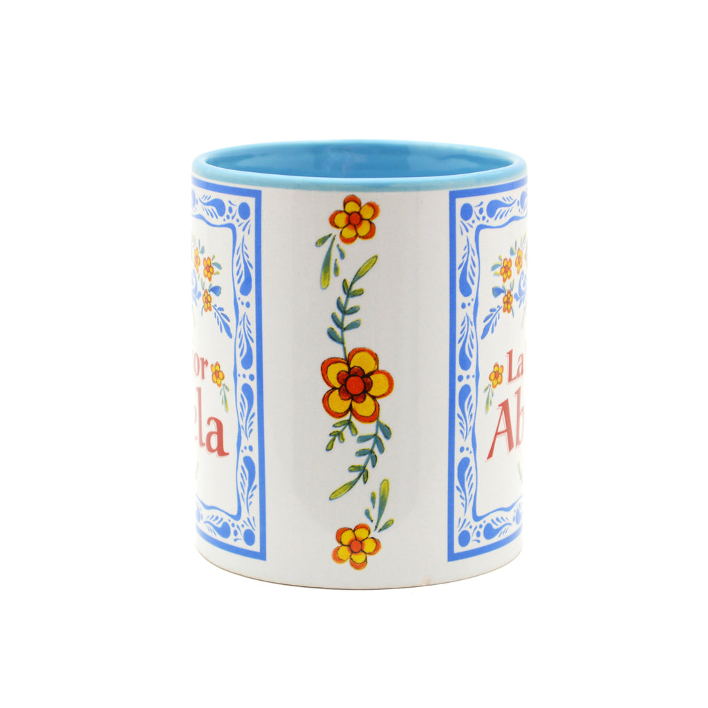 Ceramic Coffee Mug  inchesLa Mejor Abuela inches - Abuela, Coffee Mugs, CT-100, Latino, New Products, NP Upload, Spanish, SY:, SY: Mejor Abuela, Under $10, Yr-2016 - 2 - 3