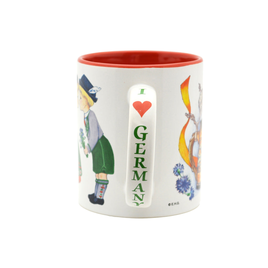 German Gift Idea Mug  inchesI Love Germany inches - Coffee Mugs, Coffee Mugs-German, CT-500, German, New Products, NP Upload, PS-Party Favors German, SY:, SY: I Love Germany, Under $10, Yr-2016 - 2