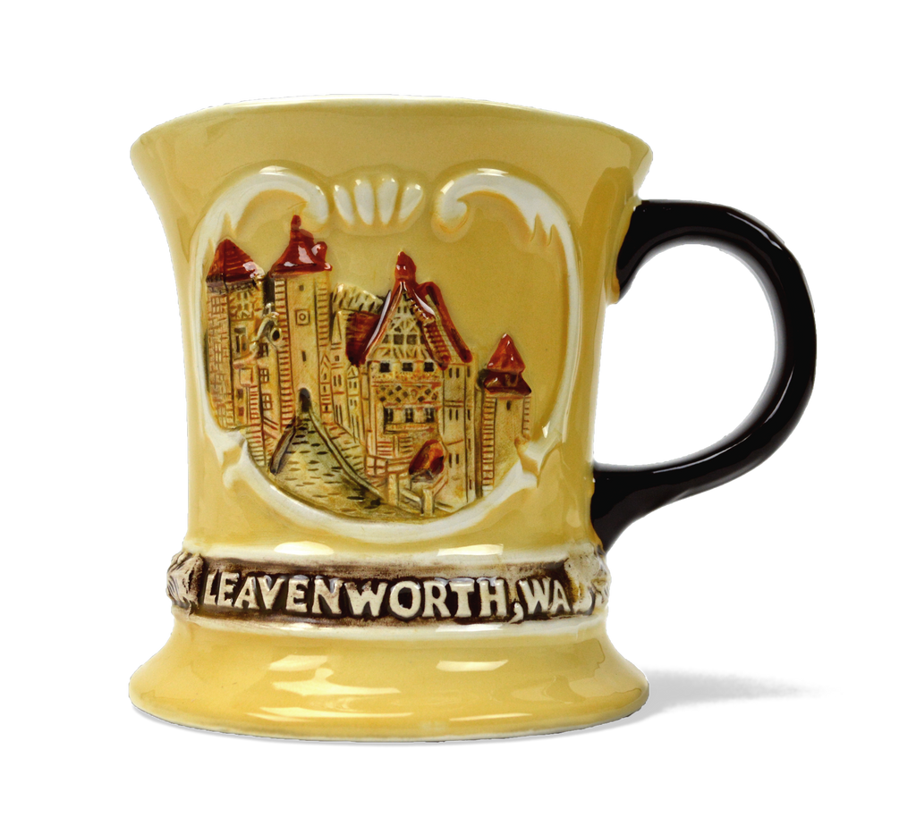 CM501L: MUG:VILLAGE/LEAVENWORTH WA.