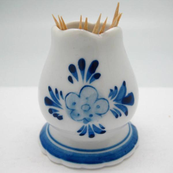 Delft Blue and White Toothpick Holder - Delft Blue, Dutch, Home & Garden, PS-Party Favors, PS-Party Favors Dutch - 2