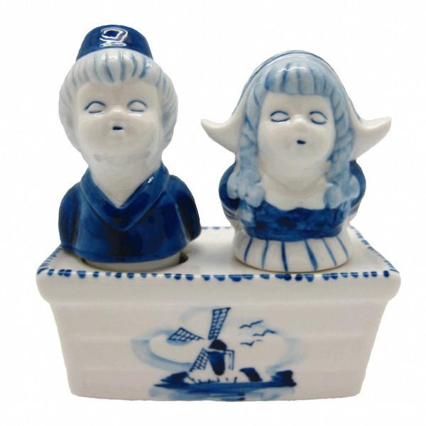 Collectible Pepper and Salt Shakers: Boy & Girl - Collectibles, Dutch, Home & Garden, Kitchen Decorations, S&P Sets, Tableware, Under $10 - 2