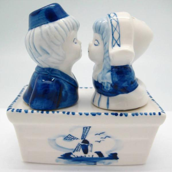Collectible Pepper and Salt Shakers: Boy & Girl - Collectibles, Dutch, Home & Garden, Kitchen Decorations, S&P Sets, Tableware, Under $10 - 2 - 3 - 4