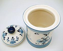 Delft Porcelain Coffee Canister - Collectibles, Delft Blue, Dutch, Home & Garden - 2 - 3