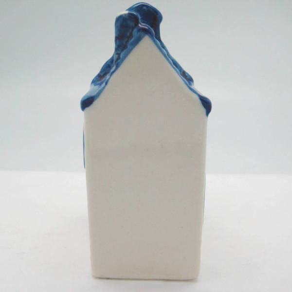 Miniature Ceramic House with Tulips - Collectibles, Delft Blue, Dutch, Home & Garden, Miniatures, Miniatures-Dutch, PS-Party Favors, PS-Party Favors Dutch, Tulips - 2 - 3 - 4