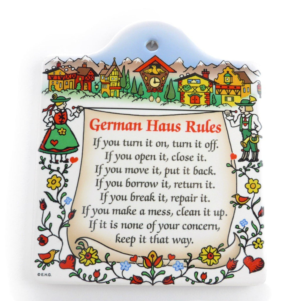 DT4730: CHEESEBOARD: GERMAN HAUS RULE