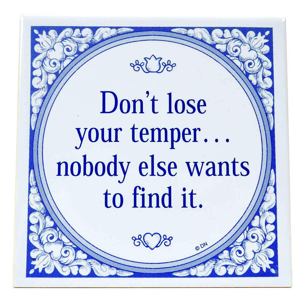 DT571: TILE: DONT LOSE YOUR...6