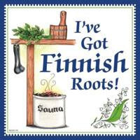 Kitchen Wall Plaques Finnish Roots - Below $10, Collectibles, CT-215, Finnish, Home & Garden, Kitchen Decorations, PS-Party Favors Finnish, SY: Roots Finnish, Tiles-Finnish, Top-FINN-A, Under $10