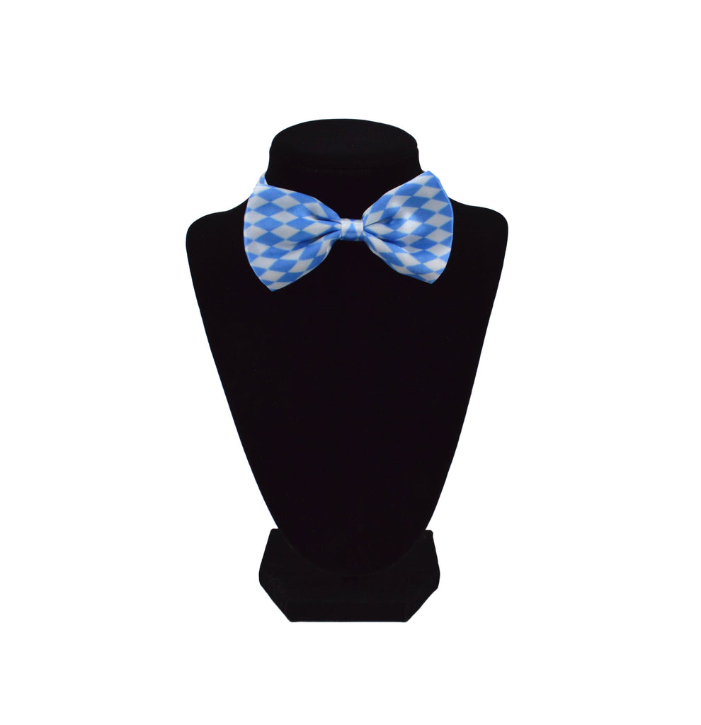 German Oktoberfest Party Bowtie Bavarian Design - Apparel-Costumes, German, New Products, NP Upload, Under $10, Yr-2016