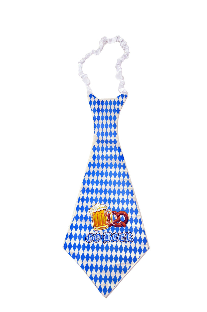German Oktoberfest Party Tie Bavarian Design - Apparel-Costumes, German, New Products, NP Upload, Top-GRMN-B, Under $10, Yr-2016 - 2