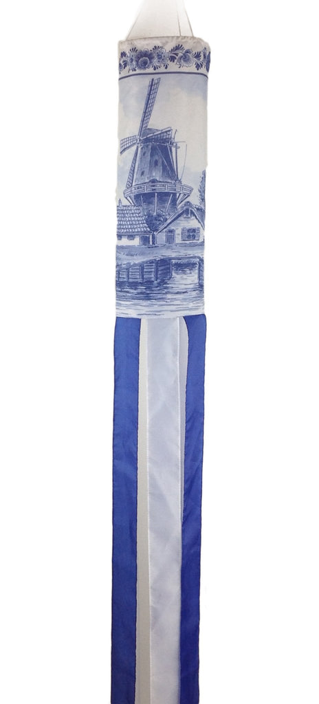 Holland Wind Sock Windmill - Collectibles, Dutch, Hanging Decorations, Home & Garden, Windmills, Windsocks-Dutch